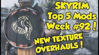 Skyrim Remastered Top 5 Mods of the Week #92 (Xbox One Mods)