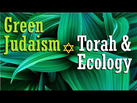 GREEN JUDAISM: Torah & Ecology (conservation air pollution environment recycling climate change smog