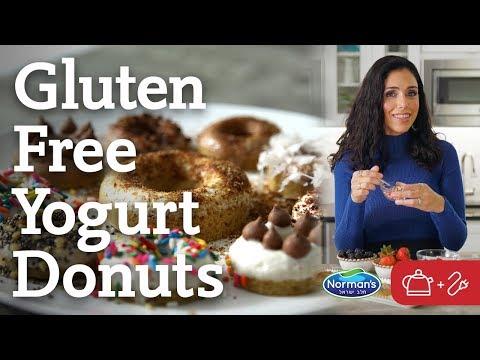 Gluten Free Yogurt Chanukah Donuts