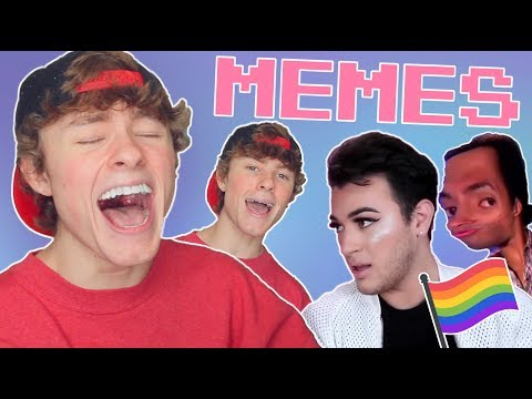 REACTING TO GAY MEMES