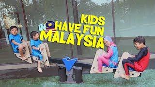 Gen Halilintar Have Fun di Malaysia