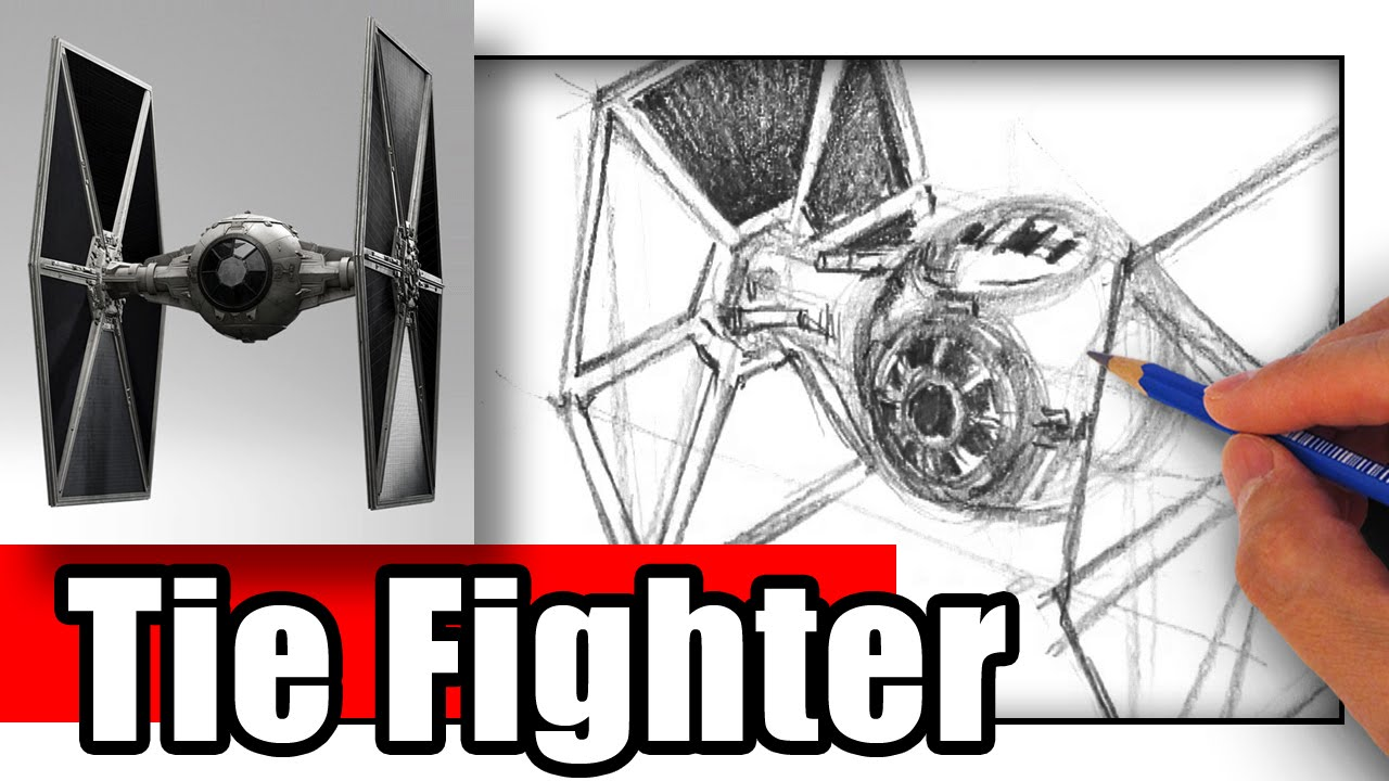 how to make a tie fighter