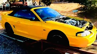 Copart 94 Ford Mustang GT Rebuild Pt 1