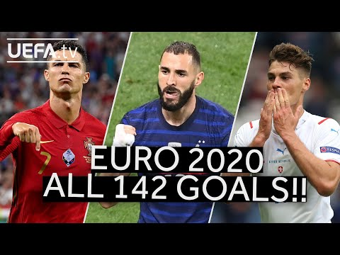 All 142 UEFA EURO 2020 goals: Watch every one!!!