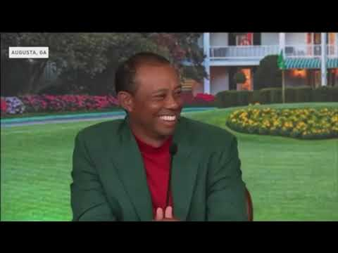 Tiger Woods Masters Press Conference 2019