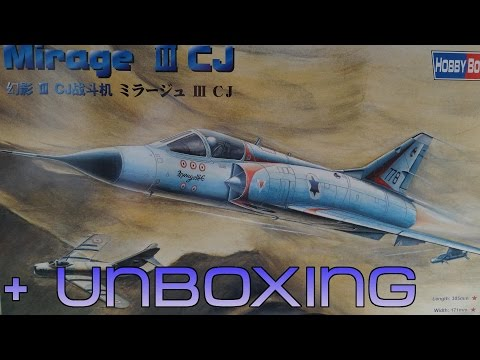 Mirage III C J (1/48 HOBBY BOSS KIT)