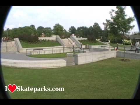 Rob Dyrdek and DC Shoe Skate Plaza