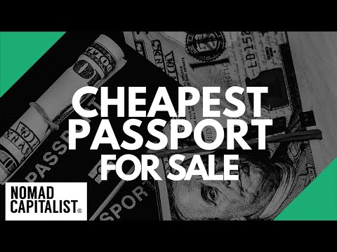 The Cheapest Passport For Sale In 2019