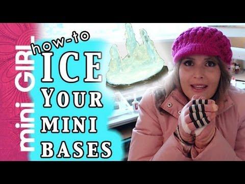 miniGIRL #26: How to Ice Mini Bases/Terrain-Tutorial-Crystal, Water, Marsh, Sludge, Toxic-Episode 8