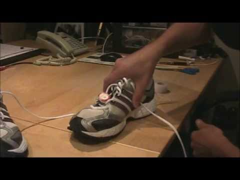 How To Attach/Mount Nike+ iPod Sensor To Any Running Shoe