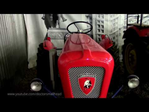 Tractor Lamborghini 1958, Moscow Retro Cars are Museum, the museum of vintage cars