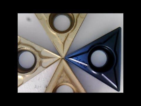 Differences between TCMT general purpose carbide lathe inserts