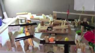 Rubeception - First Rube Goldberg that builds itself!