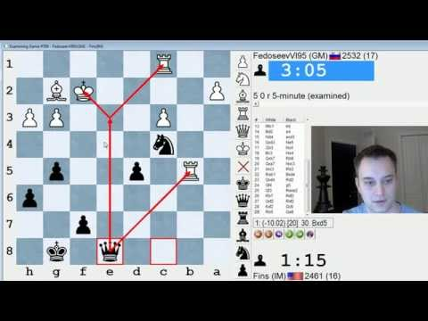 Blitz Chess #366: GM Vladimir Fedoseev vs. IM Bartholomew (King's Indian Attack)