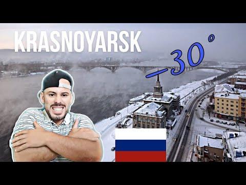 REACTION to krasnoyarsk. siberia. -30°с