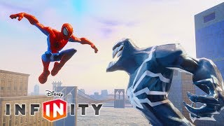 Spiderman Cartoon Game Videos For Kids - Venom Video Games For Children - Disney Infinity 2.0