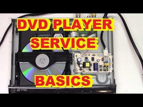 DVD PLAYER SERVICING BASICS