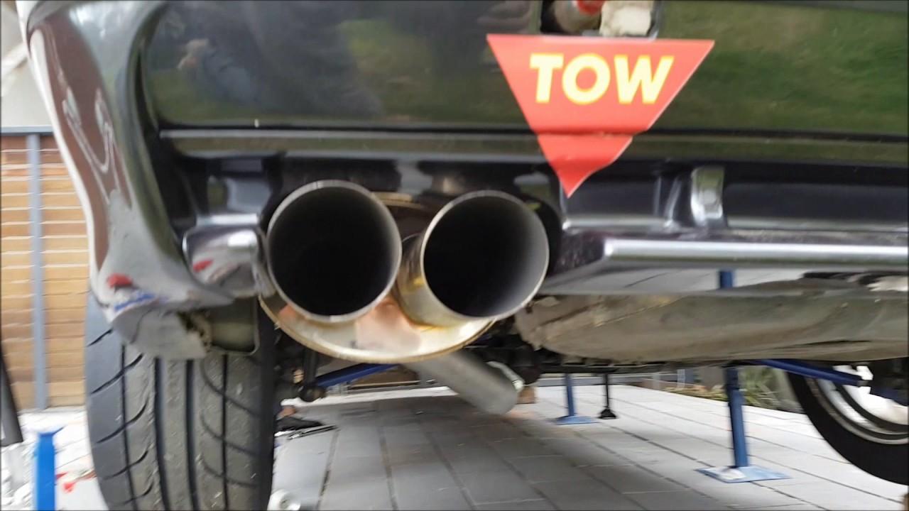 bmw e36 325i custom 3 exhaust part 1
