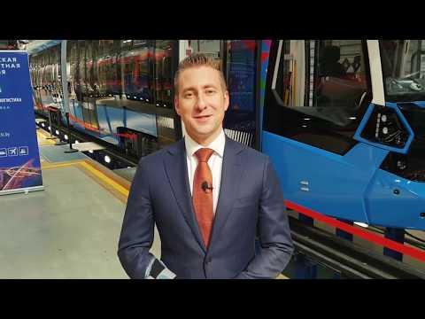 Трамвай Метелица от Stadler и другие новинки на выставке Транспорт и Логистика 2019