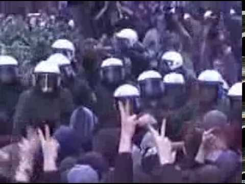 Atari Teenage Riot - Live bei 1. Mai Demo 1999 In Berlin
