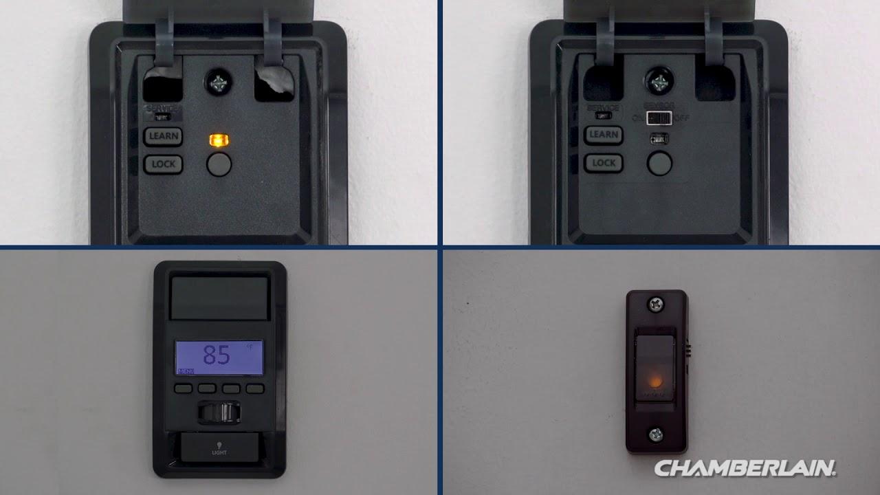 How To Program Chamberlain Garage Door Opener Remote 953cb