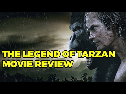 The Legend of Tarzan Movie Review (Podcast Clip)