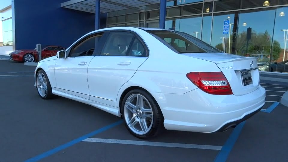 2014 mercedes benz c class pleasanton walnut creek for Pleasanton mercedes benz