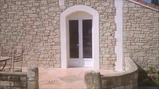 Démonstration enduit imitation  fausse pierre | depierreetdart.fr