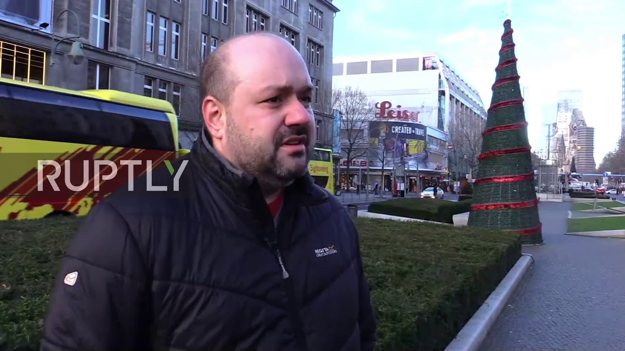 Germany: Husband of Xmas market attack victim says authorities 'incompetent'
