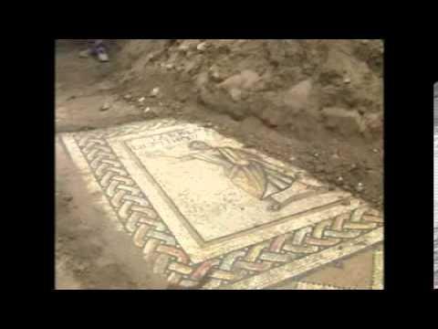 tarsus ta roma dönemine ait mozaikler bulundu