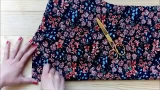 Gambar cover Nasıl Yapılır? - Çiçekli Elbise / How to Sew a Basic Floral Dress?
