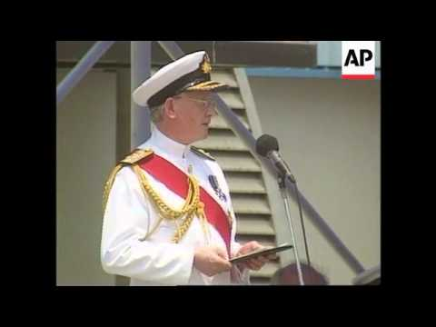 Hong Kong - Decommissioning ceremony