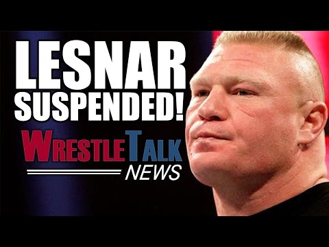 Brock Lesnar Suspended By NAC! Summerslam Controversy Continues! | WrestleTalk News