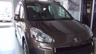 Peugeot Partner Tepee Outdoor Exterior and Interior Full 3D HD