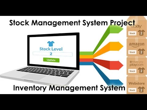 Stock Management System Project in Java - Inventory Management System image
