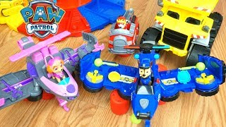 Paw Patrol Flip and Fly Chase and Skye Find Mashems Toys with Rescue Launchers