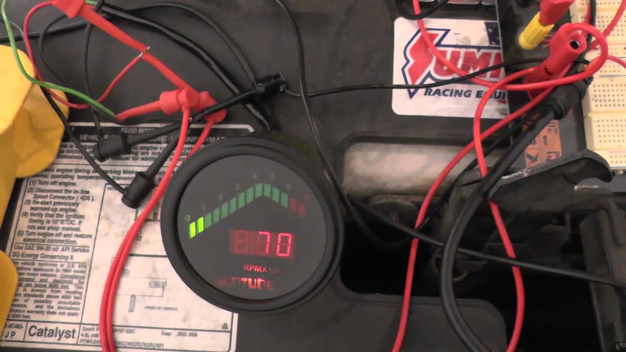 wiring up the tachometer adapter [ 1280 x 720 Pixel ]