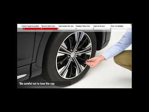 Mitsubishi Motors – How to use the Tyre Repair Kit