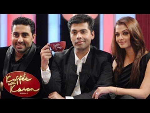 Abhishek Bachchan INSECURE of Aishwarya Rai on Koffee With Karan Season 4