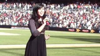 National Anthem & God Bless America - Mishavonna - PETCO Park - San Diego Padres