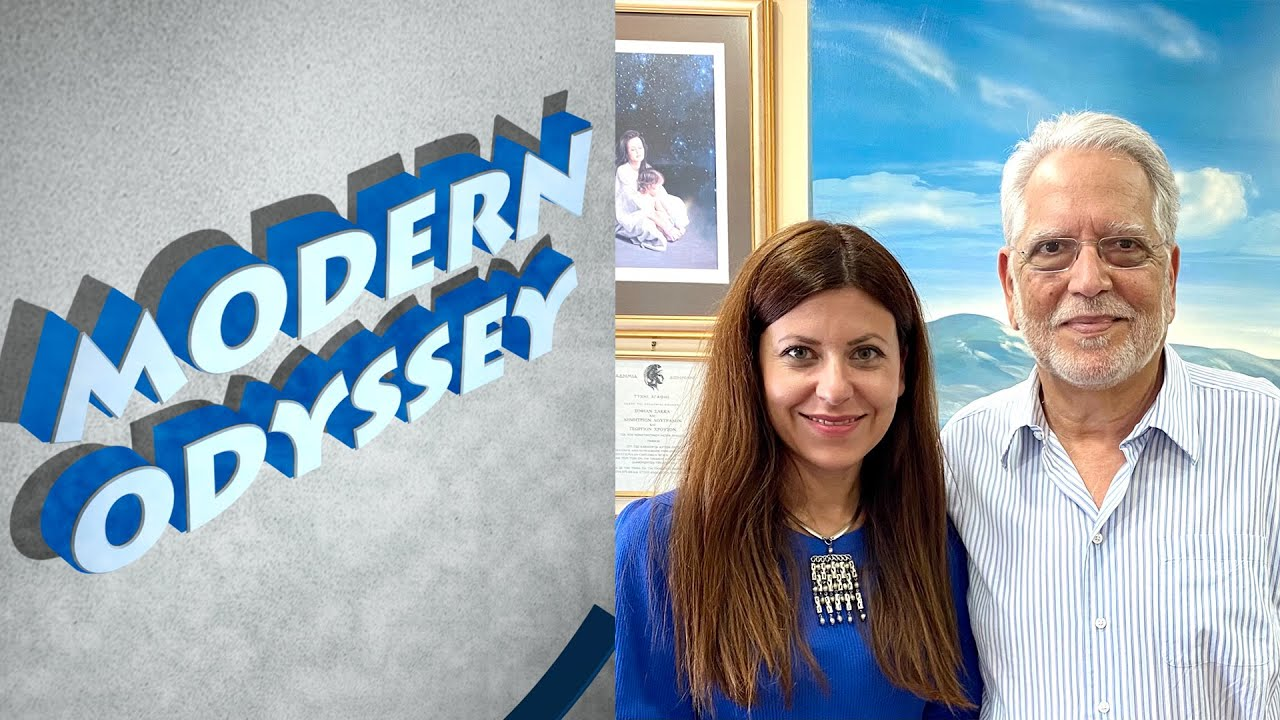 """Modern Odyssey with Dr  Despina Afentouli  - """"Stress, anxiety and (post)pandemic reality"""""""
