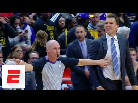 Luke Walton furious with Jamal Murray late in Lakers-Nuggets game | ESPN