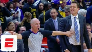 Luke Walton furious with Jamal Murray late in Lakers-Nuggets game   ESPN
