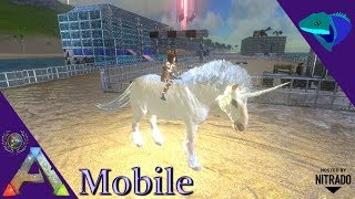 Ark Survival Evolved Mobile Taming Unicorn | The Noob: Official