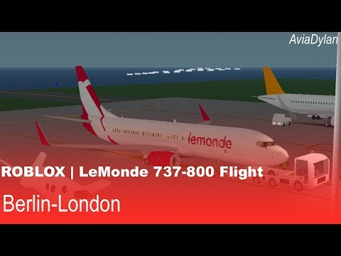 ROBLOX | LeMonde 737-800 Flight