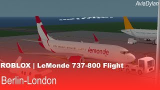 ROBLOX | LeMonde 737-800 Flug