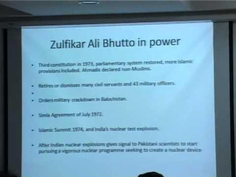 The Pakistan Military in Politics: Predicament of a Garrison State