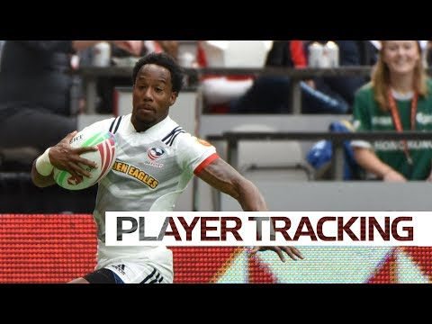 Top five speeds on day one at the Canada Sevens