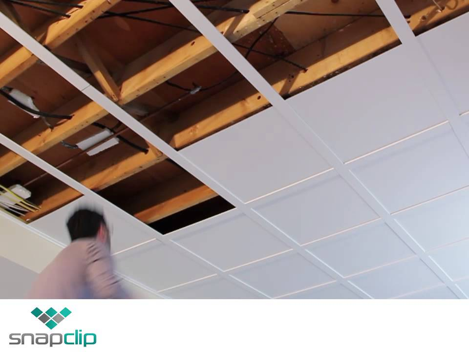Snapclip Ceilings With The Look Of Custom Mill Work In A