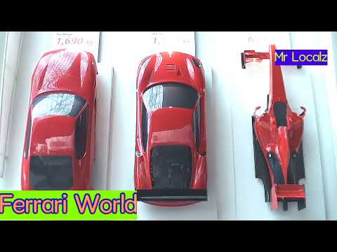 Ferrari World || Abu Dhabi || World Fastest Roller Coster||